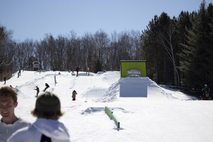 2019 MSG Private A-Fair terrain park private session. Skiing / Snowboarding / Grilling