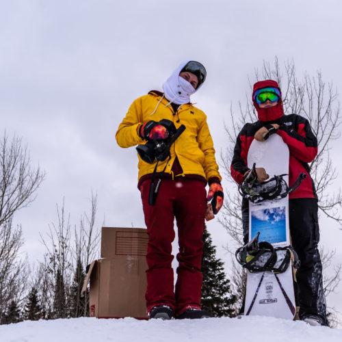 Featured: Kael Luberts (Left) and Nathan Bujarski (Right)  Photo Credit: Matt Krohn